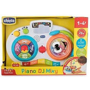 Brinquedo Infantil Piano DJ Mixy com Sons e Luzes Chicco