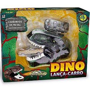 Brinquedo Dino Lança Carro Dinossauro Surpresa Dtc 5112
