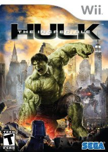 Jogo Lacrado Midia Fisica The Incredible Hulk Nintendo Wii