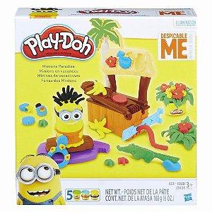 Massinha Play Doh Férias Paraiso Dos Minions Hasbro B9028
