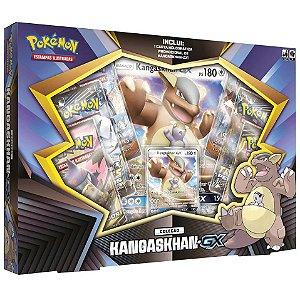 Box de Cartas Pokemon Tcg Coleção Kangaskhan GX Copag