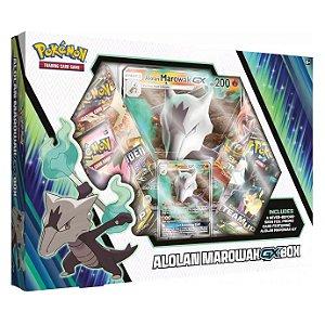 Box de Cartas Pokemon Tcg Coleção Marowak de Alola GX Copag
