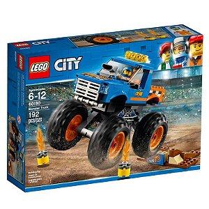 Brinquedo LEGO City Monster Truck 192 Peças 60180
