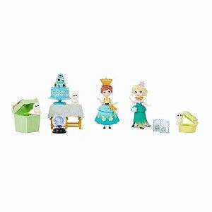 Brinquedo Maleta Mini Cenário Frozen Little Kingdom B5191