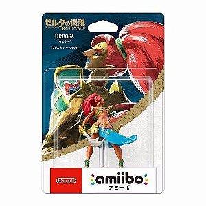 Boneco Amiibo Urbosa The Legend Of Zelda Breath Of The Wild