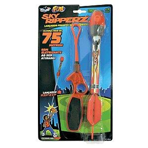 Brinquedo Lançador de Foguete Surpresa Sky Ripperz Fun 82740
