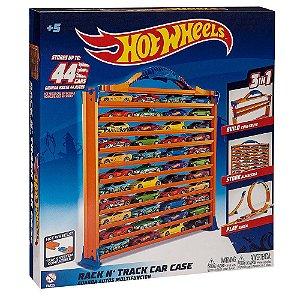 Brinquedo Hot Wheels Pista Porta Carrinho 3 em 1 Fun 84480