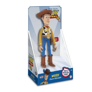 Boneco Woody 30cm Articulado Toy Story 4 Toyng 038180