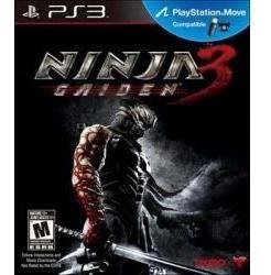 Jogo Lacrado Ninja Gaiden 3 Para Ps3 Compativel Com Move