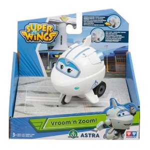 Brinquedo Super Wings Vroom n Zoom Aviao Astra Fun 80140
