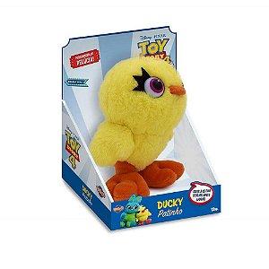 Pelúcia Pintinho Ducky 15cm Toy Story 4 Toyng 038224