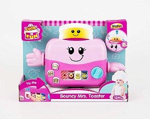 Brinquedo Didático Sra Torradeira Saltitante Yes Toys 0753G