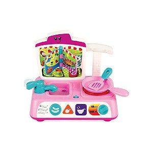 Brinquedo Didático Sra Cozinha Divertida Yes Toys 0755G