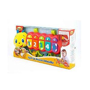 Móbile Musical Centopeia Com  Sol e Luzes Yes Toys