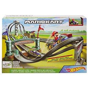 Hot Wheels Mini Circuito de Corrida Mario Kart Mattel Ghk15