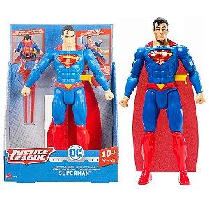 Boneco Articulado Dc Liga da Justiça Superman Mattel Gff36