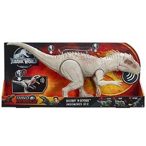 Novo Jurassic World Dino Rivals Indominus Rex Mattel Gct95