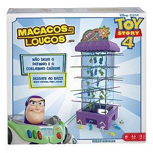 Jogo de Mesa Disney Toy Story 4 Macacos Loucos Mattel Gfm25