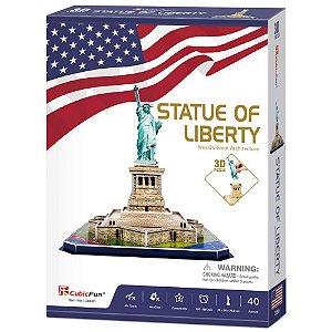 Quebra cabeça 3D Estatua da Liberdade Puzzle 39 peças C080h