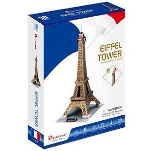 Quebra cabeça 3D A Torre Eifel Puzzle com 39 peças C044h