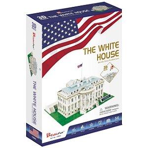 Quebra cabeça 3D A Casa Branca Puzzle com 64 peças C060h