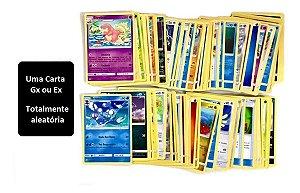 Mega Lote Pokémon 100 Cartas com Ex Garantida em Português