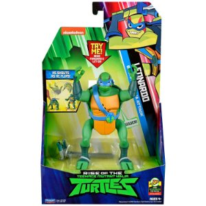 Figura de Luxo Tartarugas Ninjas Leonardo com Som Sunny 2041