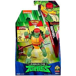 Figura de Luxo Tartarugas Ninjas Raphael com Som Sunny 2041
