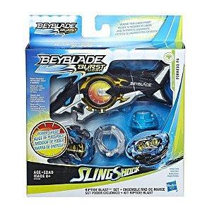 Brinquedo Beyblade Pião E Lançador Oceanus - Hasbro E5566