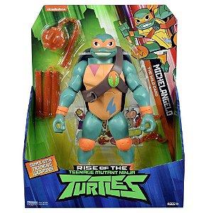 Figura Gigante Tartarugas Ninjas Michelangelo 30cm 2042
