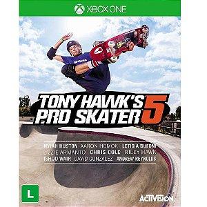 Jogo Novo Tony Hawks Pro Skater 5 Original Para Xbox One