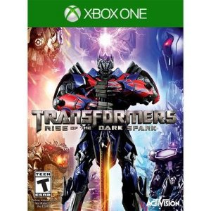 Jogo Novo Transformers Rise Of The Dark Spark Para Xbox One