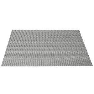 Base Blocos de Montar Cor Cinza 26x26 cm Xalingo 1332.1