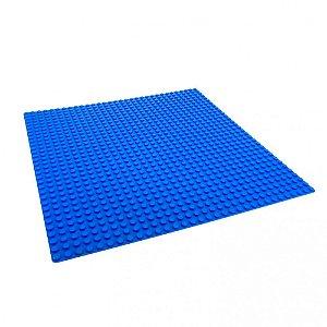 Base Blocos de Montar Cor Azul 26x26 cm Xalingo 1331.0