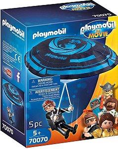 Playmobil O Filme  Rex Dasher Com Páraquedas 70070 Sunny