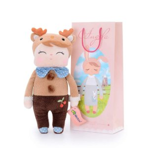 Brinquedo Boneca Pelucia Angela Series Deer Boy 33cm Metoo