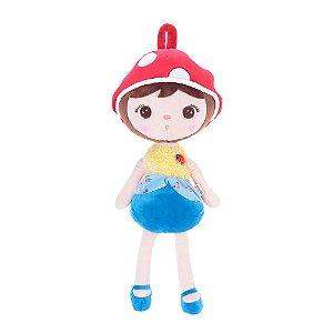Brinquedo Boneca Jimbao Joaninha Azul Bup Baby Pelucia Metoo