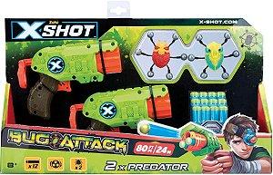 Kit  Lançadore Double Predator Bug Attack Candide 5506