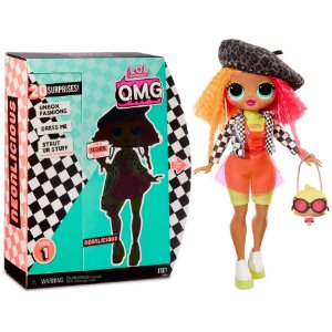 Boneca Lol Surprise Omg Fashion Doll Series Neonlicious 8934