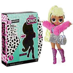 Boneca Lol Surprise Omg Fashion Doll Series Lady Diva 8934