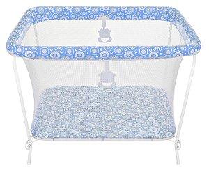 Cercado para Bebê 15kg New Fofinho Azul Tutti Baby 01011.14