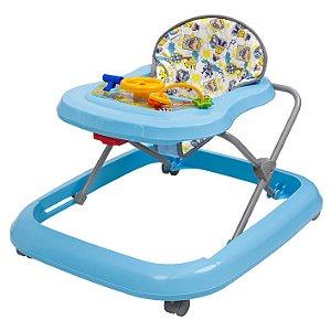 Andador Infantil Toy Azul Bebe +6m Tutti Baby 02003.26