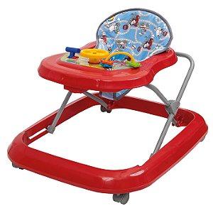 Andador Infantil Toy Vermelho +6m Tutti Baby 02003.24