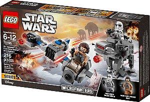 Lego Ski Speeder Vs Walker De Assalto Primeira Ordem 75195