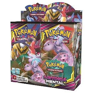 Box Boosters Pokemon Tcg Sol e Lua 11 Sintonia Mental Copag