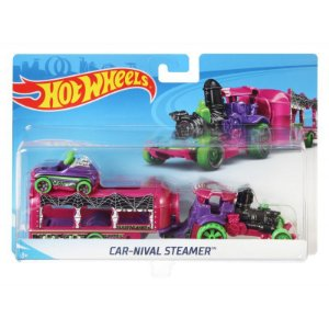Hot Wheels Caminhões de Transporte Car-Nival Steamer Bdw51