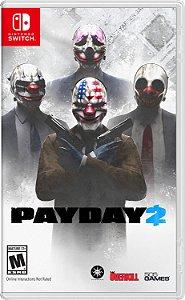 Jogo Mídia Física Payday 2 Original Para Nintendo Switch
