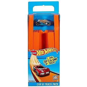 Hot Wheels Conjunto HW Carro Surpresa e Pista Mattel Bht77
