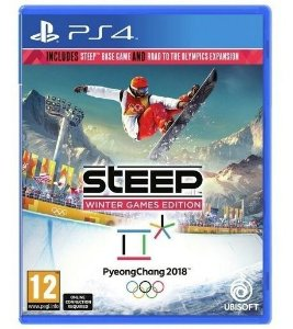Jogo Novo Mídia Física Steep Winter Games 2018 Para Ps4