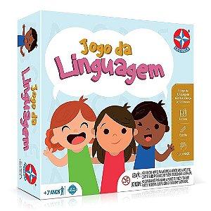 Brinquedo Jogo Tabuleiro Infantil Jogo da Linguagem Estrela